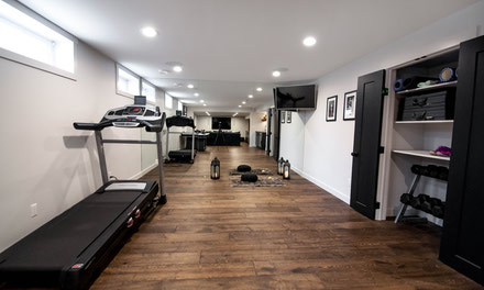 {A home gym to keep your healthy lifestyle on track}